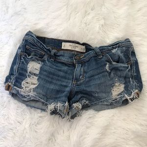 Distressed Abercrombie & Fitch Shorts
